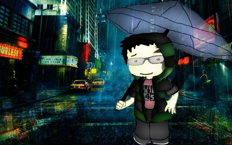 anak angin dalam hujan