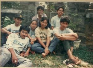Ini foto Pura tersebut pada tahun 1983